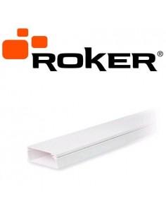 Roker Pr6041/b Mts. Cable Canal      20  X 10 C/adh          Blanco (1 Era Calidad Pr6041/b)