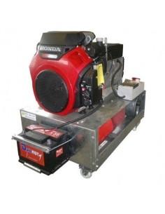 Honda Eg15000-e S/t Grupo Electrogeno + Generador Linz 220v 15.0kva 26.0 Hp Arranque Electrico