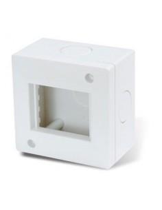 Cambre   4262  Base Ext 2 Modulos  5 X 5 Blanca     S.xxi // S.xxii    (caja)