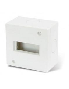 Cambre   4261  Base Ext 1 Modulo   5 X 5 Blanca     S.xxi // S.xxii    (caja)