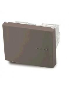 Cambre   6122  Mod  Pulsador    Tecla Doble Gris   Bauhaus