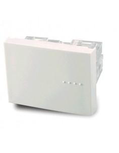 Cambre   6028  Mod  Comb. Tecla Doble 6 Bornes Blanco Bauhaus  (punto) Cruzamiento