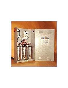 Crlx Gtmr001 Box Metal Capacitores 3 X  6 Kvar 60uf C/termica   E Indicador Lum