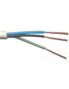 Argenplas T375bl__ Mts. Cable  3 X   0.75 Taller Rollo  Blanco Iram Nm247-5 (trip)
