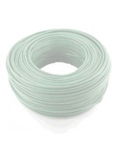 Argenplas U25bl___  Mts. Cable   1 X  25.00 Rollo Unip  Blanco Iram Nm247-3
