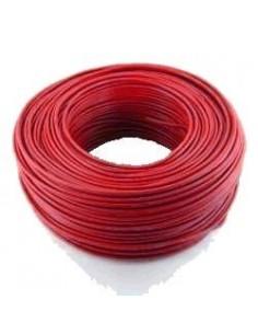 Argenplas U35ro___   Mts. Cable 1 X  35.00 Rollo Unip  Rojo Iram Nm247-3