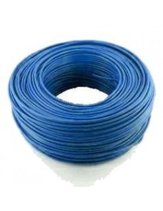 Argenplas U50ce___  Mts. Cable  1 X  50.00 Rollo Unip Celeste Azul Iram Nm247-3