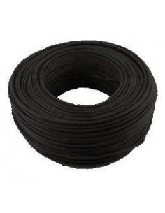 Argenplas U16ne___   Mts. Cable 1 X  16.00 Rollo Unip  Negro Iram Nm247-3