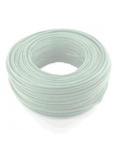 Argenplas U10bl___  Mts. Cable   1 X  10.00  Rollo Unip  Blanco Iram Nm247-3