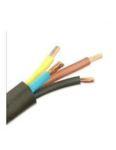 Argenplas T410ne__ Mts. Cable  4 X  10.00 Taller Rollo Negro Iram Nm247-5 (tetrap)