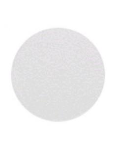 Trigama Tapa Auto Adhesiva Redonda  Blanca Ciega P/octogonal Grande 125mm