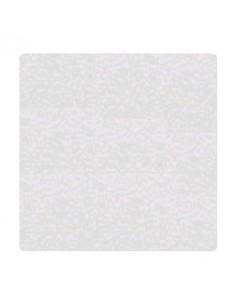Trigama Tapa Auto Adhesiva Cuadrada Blanca Ciega P/caja      Grande