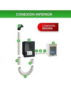 Genrod 101229____ Edesur Kit Pilar Monofasica Inf - (caja Ip + Caja Medidor + Flexible 1/2 + Pipeta Bak)