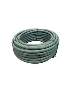 Huferjo 4112___ Mts. Caño Pvc Flexible Gris       1 1/2  Norma 750  // (corrugado) Genrod Getc 40s-p
