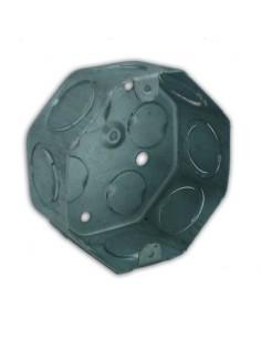 Ag Hclloc01 Caja Chapa 20 Octogonal    6 ¤ Chica Aluminizada        (caja De Luz) 9 De Julio  hcllfoc01