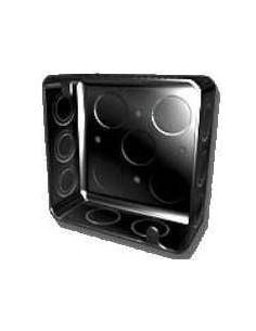 Ag Hclpcu02_ Caja Chapa 20 Cuadrada    10 X 10             (caja De Luz)