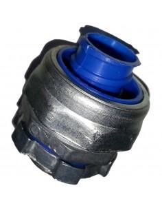 Conextube 30001022 Zm Conector Metalico 3/4 Bsc Prensacaño Aluminio