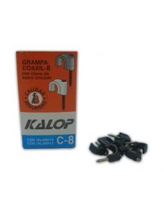 Kalop Kl06012 Grampa C-8   Coaxil  X  50 U Negra      Rg8