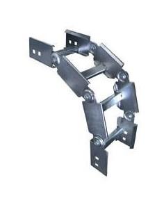 Elece E*art1505  Curva Articulada 3 Tramos  50mm Ala 64 Esp 1.6 (escalonada) Bandeja Portacable Vertical (prodem Cvap-050)