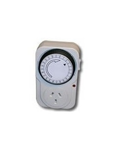 Interelec 300336 Timer Mecanico C/ficha  Imp.