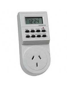 Interelec 300470 Timer Digital  C/ficha  Imp.