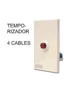 Rbc 915y-0915-001 ___ Temporizador 5 X 10 Regulab Pasillo 4 Cables 2200w (apto Led) Bornera   (pulsador Automatico) Elibet