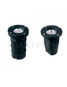 Artelum 61638-e    Ceibo  Spot Emb Gu-10    Ip-65 140mm                   Negro Piso