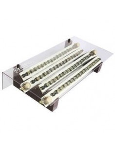 Elent 415400ap   Bornera Profesional 4 X 15 X 400a C/tierra (mm X Mm X Mm)