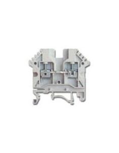 Zoloda Bpn-06         Bornera Unipolar P/riel Din  6.0mm  Gris (compon. Flex.rig.)
