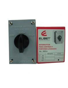 Elibet 108cp     Inversora   Ext  P/cortinas  3 X  16a. C/caja Trifasica / Monofasica
