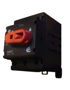 Elibet 63004/8   Interruptora 1-0 P/tablero  4 X  63a (seccionadora) P/candado