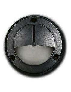 180g 38038/led Protect Ng Aplique Alum. Negro 5w Luz Calida 100mm      (mini Tortuga)        (candil E3000v/ng Sun / Artelum