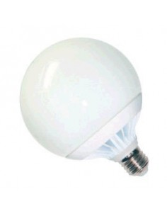 Interelec 404051 E27 G95_/silica T.globo 15w/865 Led Fria   Lampara (401820 (macro14w (401605 12w)