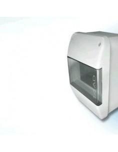 Taad I7300   Caja Term Din Ext      4b Pvc C/ 1p  Mini Inbi  (simil Genrod /minbi)