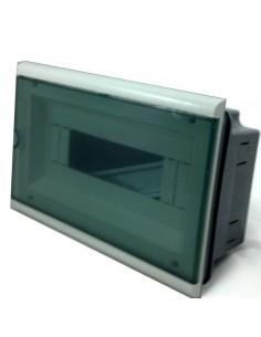 Genrod 04012 Caja Emb Eco_____ 12b Pvc C/ 1p Para Termicas Din (ex 04487bpen )