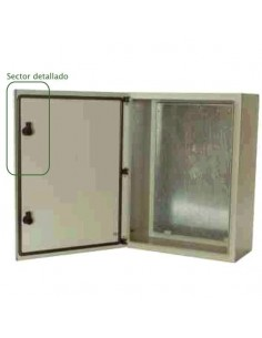 Genrod 099206     Gabinete Estanco C/bandeja (450 X  600 X 225) Serie 9000