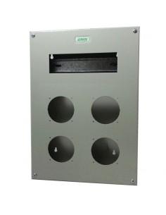 Genrod 09989        Caja P/capsulado 4 X 16a           + 9 Din  (gabinete Metalico Ind. P/capsulados Cbox Ext)