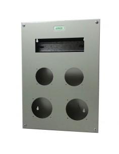 Genrod 09990        Caja P/capsulado 2 X 16a + 2 X 32a + 9 Din  (gabinete Metalico Ind. P/capsulados Cbox Ext / Gabexel Gtis