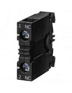 Siemens 3sb3400-0c    Bloque De Contacto Auxiliar Normal Cerrado Nc