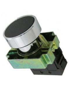 Baw B5ba21           Pulsador  Rasante  Negro     Metalico Con Bloque De Contacto Na  (sassin 3sa8-ba22)