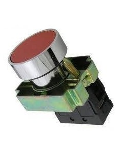 Baw B5ba42           Pulsador  Rasante  Rojo   Metalico Con Bloque De Contacto Na (sassin 3sa8-ba42)