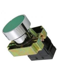Steck Slmrn2        Pulsador  Rasante  Verde  Metalico Sin Bloque De Contacto Na (sassin 3sa8-ba31) Baw Pld4m