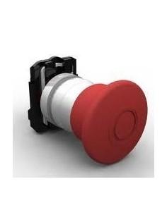Steck Slpfn1m4         Pulsador  Hongo 40mm     Rojo S/retencion  (golpe De Puño) Para Bloque De Contacto Na (sassin 3sa8-bt