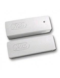 X-28 Smsb           Sensor Magnetico Para Puertas Y Ventanas Blanco $ Smab