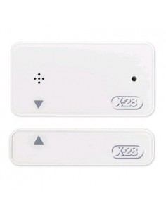 X-28 Smagb W        Sensor Magnetico Inalambrico Para Puertas Y Ventanas Lleva Pila 2032