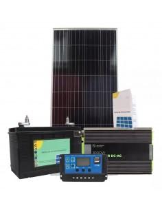 Kit Solar 4 1000w150w X 5hs / Panel 150w, Bateria 110ah / 3 X Usb -  Poliristal