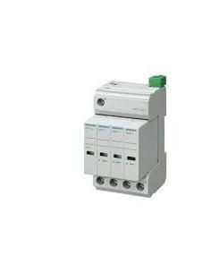 Siemens 5sd7424-1 Descargador 4 Polos Sobretensiones 8/20µs, Clase Ii, Uc:350/264vca, C/señal 1co