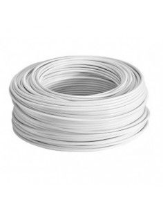Argenplas U185bl__  Mts. Cable   1 X 185.00 Rollo Unip Blanco Iram Nm247-3