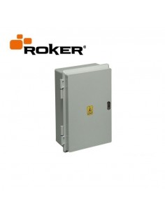 Roker Prd551   Gabinete Estanco   230 X 315 X 145  16 Bocas Din Ip65 C/bisag S/cerr Tapa Blanco (caja Termica Estanca)