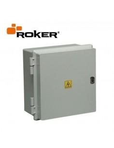 Roker Prd552   Gabinete Estanco   330 X 315 X 175  24 Bocas Din Ip65 C/bisag S/cerr Tapa Gris (caja Termica Estanca)